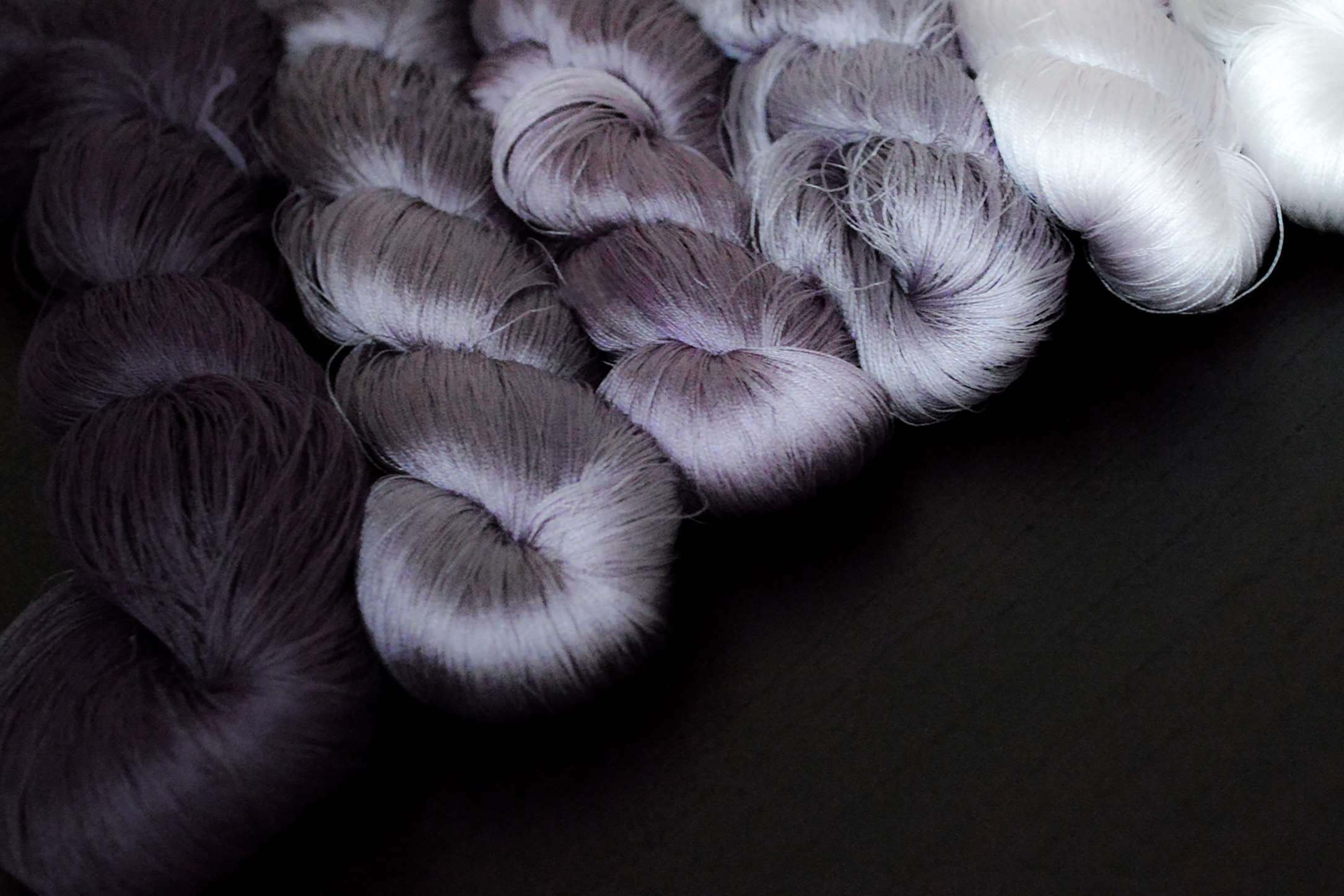 自然から頂く色と糸